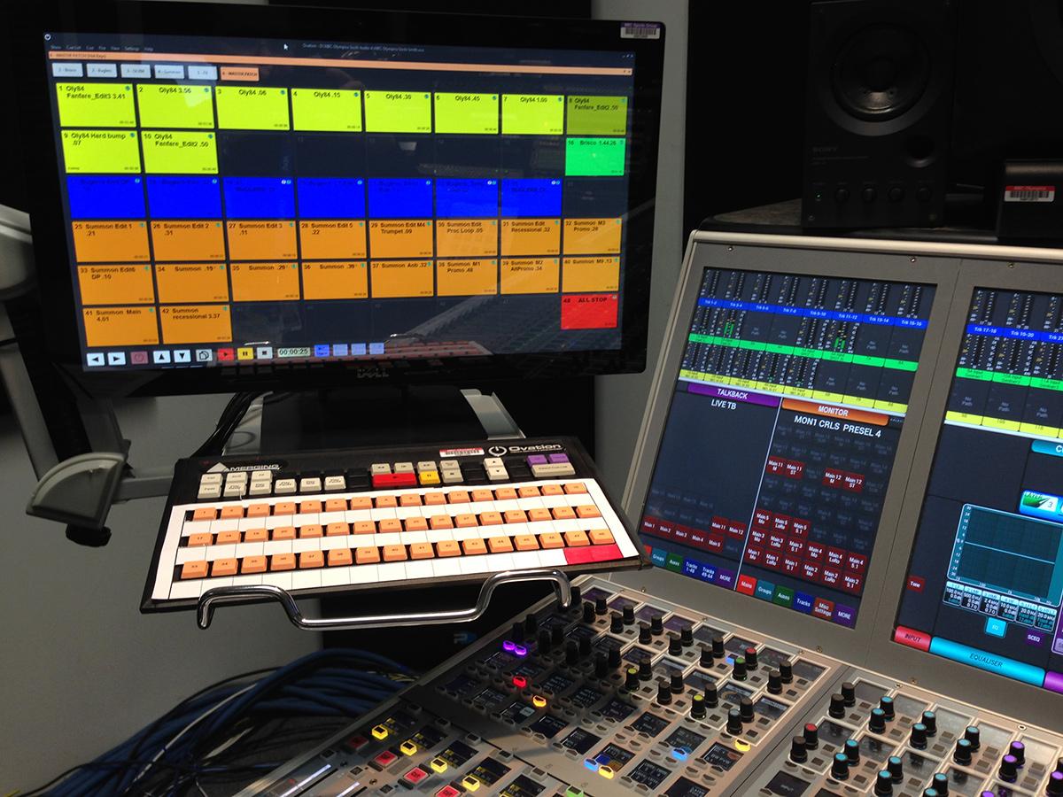 Ovation audió & esemény bejátszó